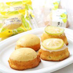 高島屋限定でレモンケーキには瀬戸内産のレモンを使用、レモン風味のホワイトチョコとレモンピールの程よいマッチング。青いレモンケーキには大崎上島産の甘く煮詰めたグリーンレモンを上部にトッピング。「媛っ娘みかん卵」「瀬戸内のみかんはちみつ」など瀬戸内のこだわりの原材料を使用しております。
