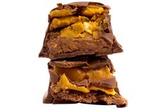 Peanut Butter, Caramel + Pretzel Candy Bar – Mouth.com
