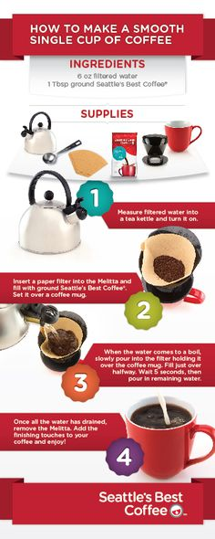 We finally have a recipe for the the perfect SINGLE cup of coffee thanks to @seattlesbest #MyCoffeeInspiration