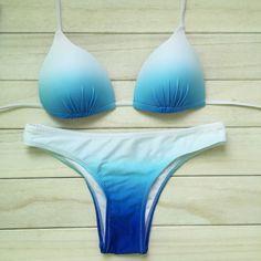 2016 Woman Padding Push Up Bikini Set - Brazilian Bikini Swimsuits