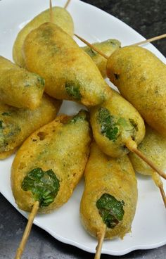 Mexico Food, Canapes, Chicken Wings, Great Recipes, Pear, Sushi, Potatoes, Stuffed Peppers, Fruit