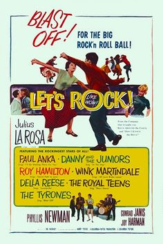 "LET'S ROCK (a.k.a. KEEP IT COOL) 1958 movie on DVD. Great ""East Coast"" feel with greasy charm and great Manhattan locations. Terrific 50s rock n roll by Danny and the Juniors, the Royal Teens, the Tyrones, Paul Anka, Roy Hamilton and Della Reese. Rock and roll is here to stay...Daddy-O!  A ballad singer's career in spiraling downward because he won't jump on the rock n roll bandwagon. Eventually he does and all ends happy."