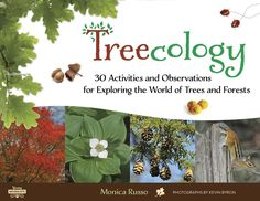 Get your kids excited about being outside! Treecology by Monica Russo | The information is presented in such a way that younger children will be able to navigate it with help, and older kids and adults will find the level of detail to be satisfying. It would lend itself well as an excellent reference in a school setting, as well as a solid spine in a homeschooling unit study.  I think you'll find it to be a worthy addition to your library. -- @hikermama