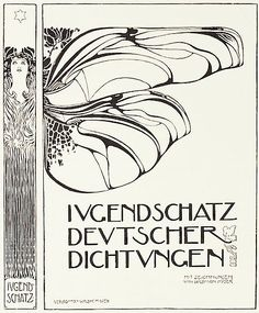 Book cover by Kolo Moser, Feb. 1898, Ver sacrum.