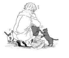 #manga #mangacap #shoujo #cute #kitten #cat
