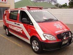 Paramedic Ambulance in Pretoria (CBD) South Africa