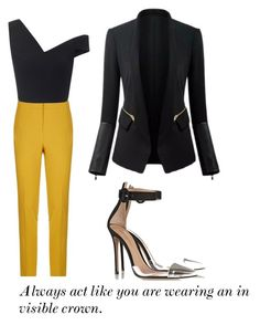 """""""OOTD"""" by mdelam ❤ liked on Polyvore featuring Pinko and Maticevski"""