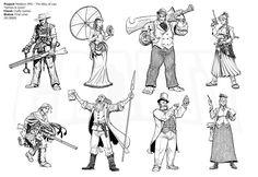 Mistborn RPG - Alloy Heroic Archetypes by Inkthinker.deviantart.com on @deviantART