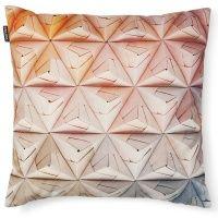Geogami Cushion Orange-Pink