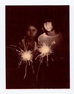 summer's end sparklers (arrow and emma) • autumn de wilde