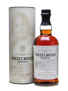 Hazelwood Reserve (Kininvie) 1990 / 17 Year Old 70cl / 52.5% Speyside Single Malt Scotch Whisky Distillery Bottling Ta-Daa! The first publicly-available bottling of Kininvie, workhorse for the Grant's stable. You may well have had Monkey Shoulder (which has plenty of Kininvie in it), but this is the first opportunity to try it as a single malt in its own right.