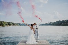 """We get asked a lot about our smoke bomb photos. The two big questions always seem to be, """"How do you guys go about using them in shoots?"""" and """"Where do you guys get your smoke bombs from?"""" First off, why would anyone want to use smoke bombs in a shoot? Simply put, it's pretty …"""