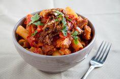 Roast Pork Pasta | 35 Easy Ways To Use Up Sunday Lunch Leftovers