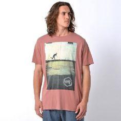 Animal Men's Laycroft Skater Graphic T-Shirt - Cocoa
