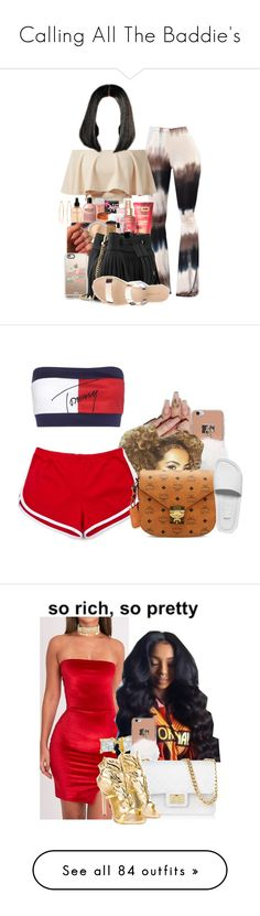 """""""Calling All The Baddie's"""" by melaninprincess-16 ❤ liked on Polyvore featuring AX Paris, Victoria's Secret, Casetify, Whistles, Charlotte Russe, Brooks Brothers, Tommy Hilfiger, MCM, Melissa and Zales"""