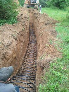 Geothermal Slinky Loop