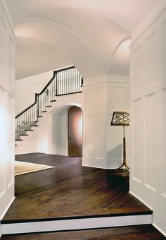 This millwork! tudor style homes architectural interiors entryway single family homes new house construction architects washington DC Donald Lococo New House Construction, Tudor Style Homes, Tudor House, Tudor Cottage, Interior Exterior, Interior Design, Classic House, Architecture Details, Architecture Interiors