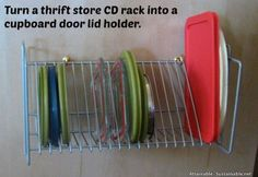 Cool idea - Does anyone have CD racks anymore??