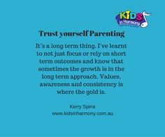Trust your heart. Trust Yourself, Parenting, Calm, Learning, Heart, Studying, Teaching, Childcare, Hearts