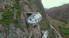 skylodge adventure suites - climb up, zipline down
