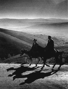 Portela da Canda by Jean-Dieuzaide, 1961- Galicia, Spain.