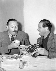 Ernest Hemingway and Frank Capra