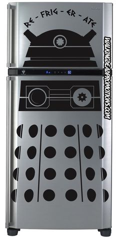Everything You Need To Make a Nerd's Dream Kitchen - buy me anything from this page and I will be happy forever. (Especially the tardis fridge...)