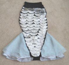 homemade mermaid costumes - Google Search