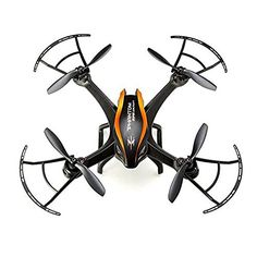 Dayan Anser Upgrade Product - Cheerson CX-35 5.8G FPV Drone With 2.0MP Wide Angle HD Camera RC Quadcopter With Air Pressure Sensor(Black&Orange) * Read more reviews of the product by visiting the link on the image.