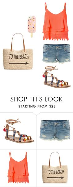 """""""Beach Style"""" by jildorshoes ❤ liked on Polyvore featuring Steve Madden, True Religion, Glamorous, Style & Co., Tory Burch, Summer, beach and SteveMadden"""