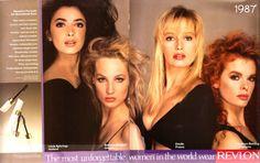 most unforgettable women in the world wear revlon ads | Unforgettable Indeed with Revlon