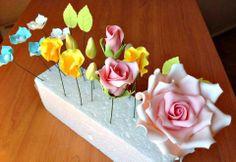 Las flores que he aprendido gracias al curso online de Fotopastel.com y Lola García