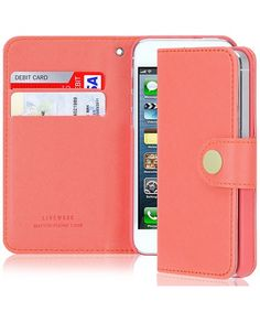 Get organized with this iPhone 5 Wallet Case (don't worry, iPhone 4 available too!)