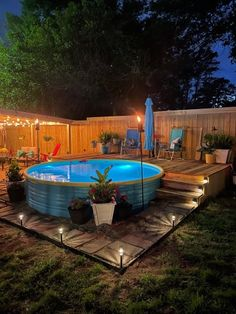 Outdoor Fun, Outdoor Decor, Stock Tank Pool, Backyard Paradise, Outside Living, Dream Home Design, Home Reno, Time Out, New Builds