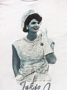 Jackie O Kennedy T-shirt Jacqueline Kennedy Onassis Painting 3d T shirt