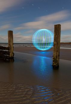 Back To Light Artist Caleb Charland Uses Fruit Batteries To - Fruit provides light for long exposure photographs