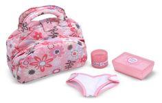 Melissa and Doug Mine to Love Diaper Bag Set - https://plus.google.com/103953366841918766769/posts/3p6KRqe8bfB