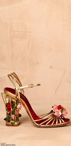 ~Dolce & Gabbana High Heeled Sandals | The House of Beccaria#