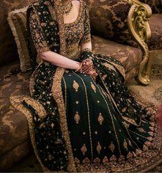 Pakistani Wedding Outfits, Indian Bridal Outfits, Indian Bridal Fashion, Wedding Dresses For Girls, Pakistani Wedding Dresses, Pakistani Dress Design, Indian Dresses, Dulhan Dress, Designer Party Wear Dresses
