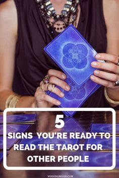 5 Signs Youre Ready To Read The Tarot For Other People - Is it time to start sharing your Tarot reading skills with others? Here are 5 signs you're ready to become a professional reader