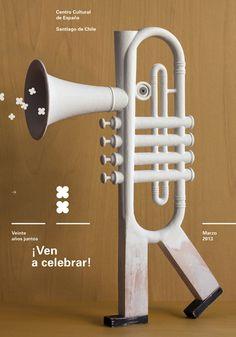 Celebración 20 aniversario Centro Cultural de España en Santiago de Chile. Por Fisidro Ferrer.
