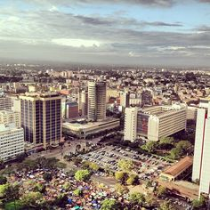 Nairobi, the location of the International Peace Quest Institute's Kenya/greater Africa branch.
