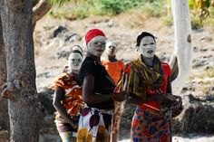 Local Mozamiquans in tribal make -up