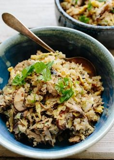Recipe: Asian Cauliflower Fried Rice with Kalua Pork