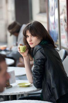 disfrutando de un cafe en la mejor compañia…