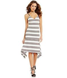Gianni Bini Louisa Asymmetric Hem Sheath Dress