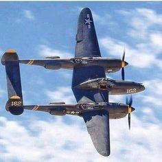 "Lockheed Lightning: ""The unmistakable lines of the elegant Lightning. Ww2 Aircraft, Fighter Aircraft, Military Aircraft, Fighter Jets, Airplane Fighter, Lockheed P 38 Lightning, Air Festival, Flying Boat, Ww2 Planes"