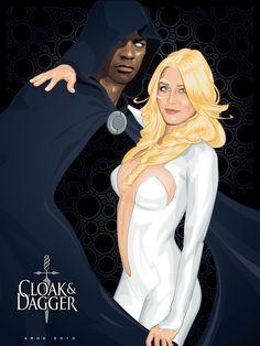 Cloak and Dagger by ratscape.deviantart.com on @deviantART