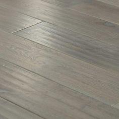 Handscraped Engineered Oak Flooring - Grey Stain