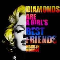 Fine Art Prints, Framed Prints, Canvas Prints, Marilyn Monroe Quotes, Nostalgic Art, Diamond Are A Girls Best Friend, Hollywood Stars, Unique Art, Fine Art America